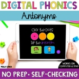 Distance Learning Antonyms Sound Tappers - Digital Phonics