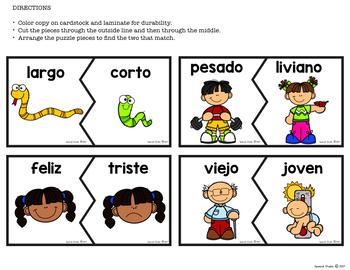 Antonyms (Spanish)