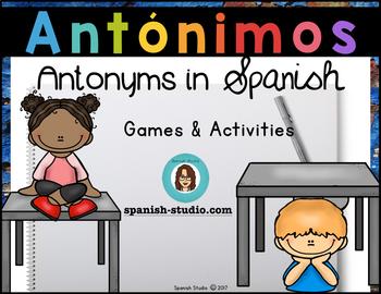 Antónimos/ Antonyms (Spanish)