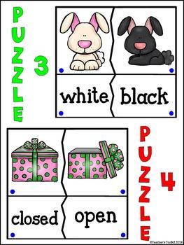 Antonyms Synonyms Homonyms Station Puzzles {UK Teaching Resource}
