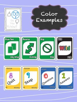 Antonyms, Synonyms, Multiple Meaning, Root Word - Language Game like UNO™