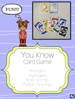 Antonyms, Synonyms, Multiple Meaning, Root Word - Language