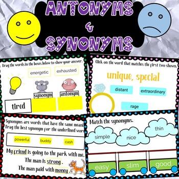 Antonyms & Synonyms Worksheets-30