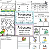 Antonyms & Synonyms Worksheets-30