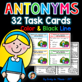 Antonyms Task Cards for 1st, 2nd, and 3rd grade