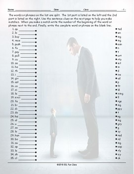 Antonyms Word Links Worksheet