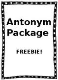 Antonyms Worksheets - FREEBIE!