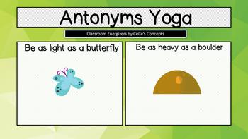 Antonyms Yoga