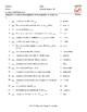 Antonyms and Opposite Actions Spanish Matching Exam