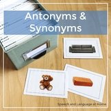 Antonyms and Synonyms - Photo Cards (Adjectives)