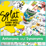 Antonyms and Synonyms SPLAT! {a language skill game}
