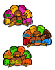 Antonyms and Synonyms - Turkeys
