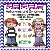 Antonyms and Synonyms--Worksheets and More