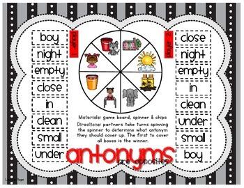 Antonyms are Opposites