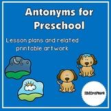 Antonyms for Preschool