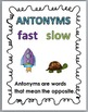 Antonyms Matching - Set 2 - Opposites - Opposite Match