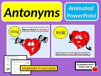 Antonyms/Opposites PowerPoint
