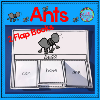 Ants Writing Flap Books!