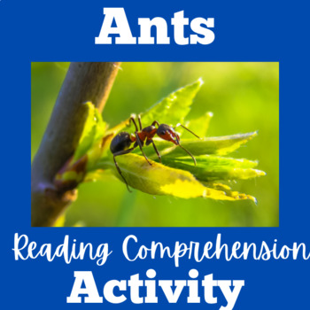 Ants | Ants Activities | Ants Unit | Ants Lesson | Ants Science