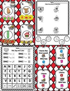 Ant's ABC Picnic (An Alphabet Unit)