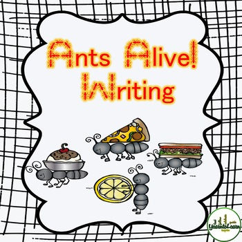 Ants Themed Writing Pack