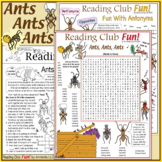 Ants Ants Ants – Vocabulary-Rich Puzzles – Facts, Behavior