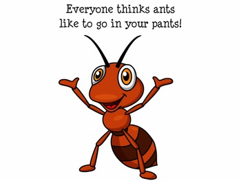 Ants Bugs Book Early Reader Literacy Circle