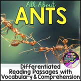 Ants Differentiated Passages with Vocabulary and Comprehen