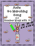 Ants Go Marching Song and Number Work with 10