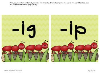 Ants: Literacy and Math Bundle