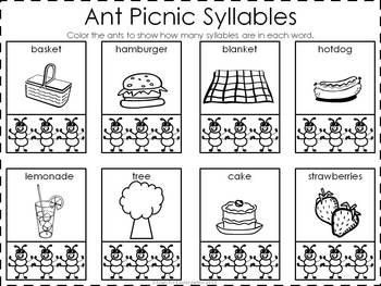 Ants:  Math, ELA, and Science Mini Unit