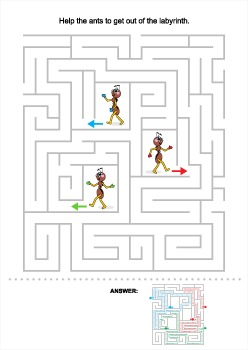 Ants Maze, Commercial Use Allowed
