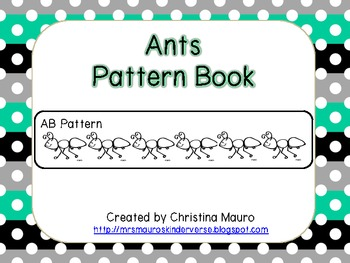 Ants - Pattern Book