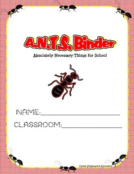 Ants {Picnic} Binder Cover