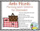 Ants Picnic September Morning Work Centers