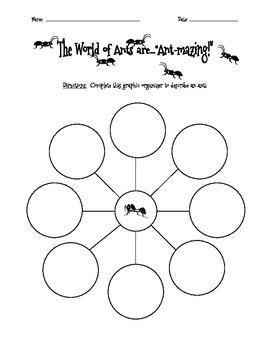 Ants-R-Amazing:  Brainstorm & Describing Words
