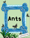 Ants Science and ELA Unit