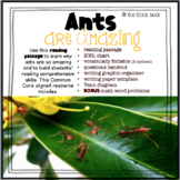 Ants are Amazing: Reading Passage and Comprehension