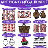 Ants at the Picnic Clip Art -Ant Picnic Mega Bundle {jen h