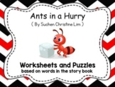 Busy Ants - English Worksheets