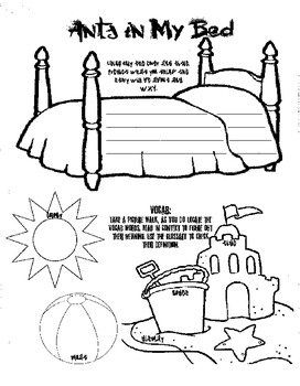 Ants in My Bed - Guided Reading Packet