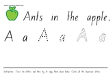 Ants in the Apple Worksheets