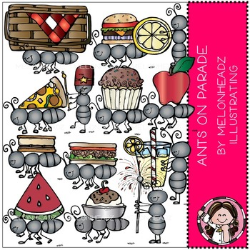Melonheadz: Ants on Parade clip art - COMBO PACK