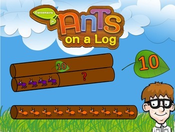 Ants on a Log (Beginning Cuisinaire Rods)