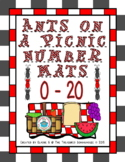 Ants on a Picnic Number Mats for 0-20