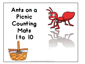 Ants on a Picnis Number Counting Cards