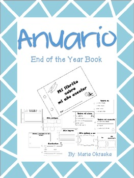 Anuario (End of the Year Book in Spanish)