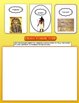 Anubis the Egyptian God of the Underworld Common Core Science Activities