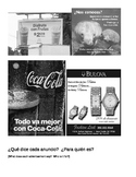Anuncio / Advertisements in Spanish - what do they say?