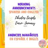 Anuncios para la Semana Bilingues para Febrero  - Bilingua